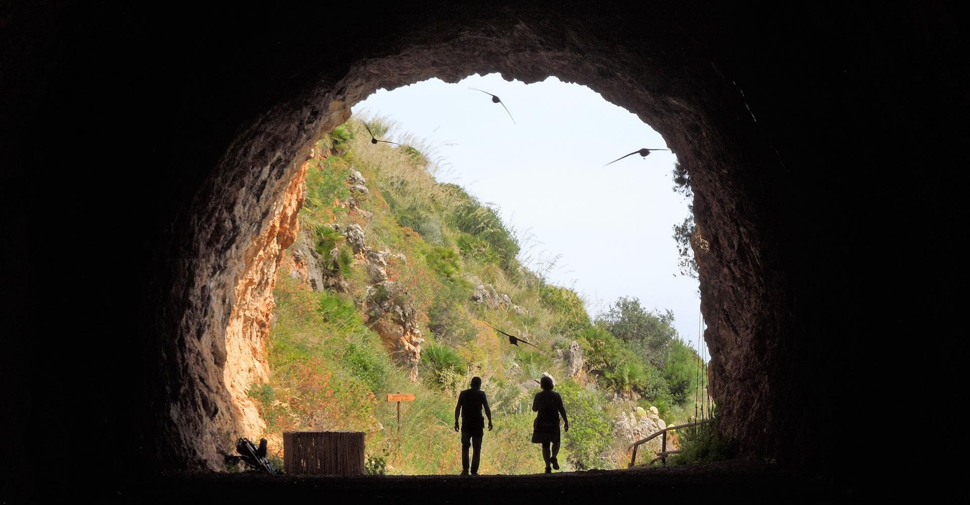 Gallery in the Riserva naturale dello Zingaro