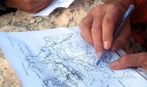 mappa riserva zingaro