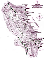 Download the map of the Riserva dello Zingaro