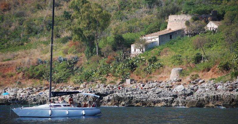 boat trips Zingaro reserve