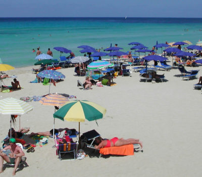The beach of San Vito Lo Capo