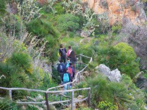 scpri i sentieri della riserva naturale zingaro