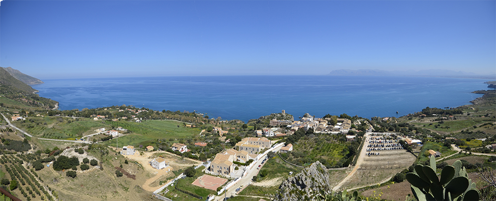 Overview of the Gulf of Castellammare